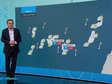 Se esperan chubascos que podrían ser localmente fuertes en Baleares