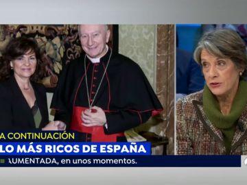 La mujer más franquista de España acusa a la vicepresidenta del Gobierno de no conocer la Ley de Memoria Histórica