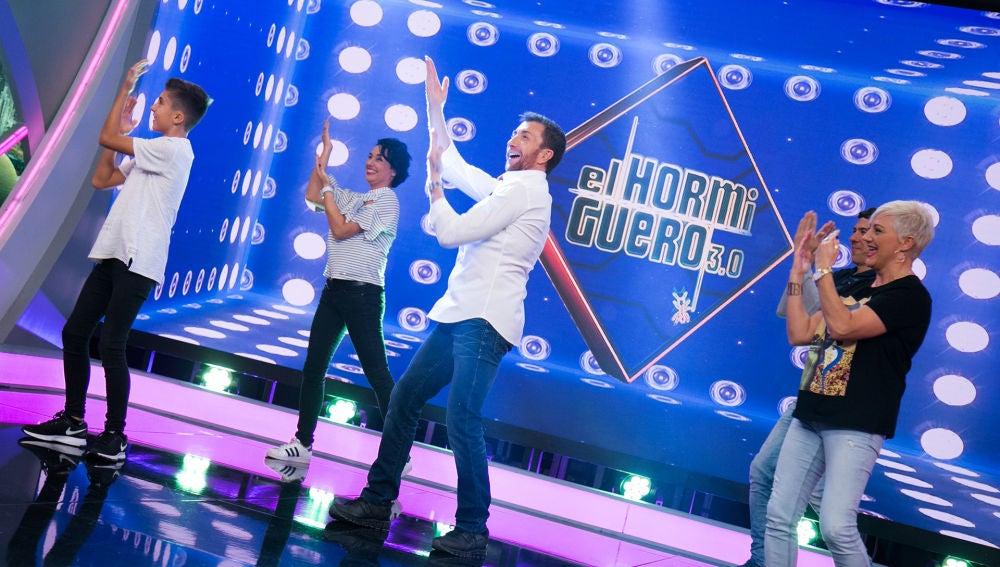 La familia Luque Hernández empieza 'El Hormiguero 3.0' bailando con muchísima energía
