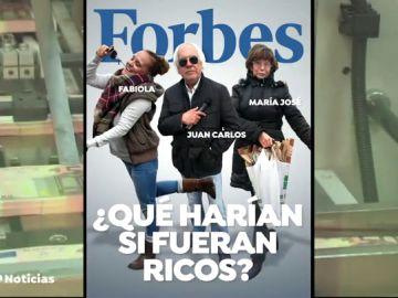 ¿Qué harías si tuvieras tanto dinero como para estar en la lista Forbes?