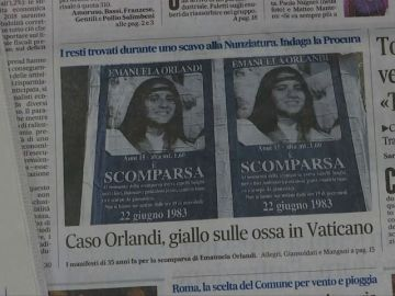 Los restos óseos hallados en el Vaticano podrían ser de Emanuela Orlandi, la joven desaparecida desde 1983