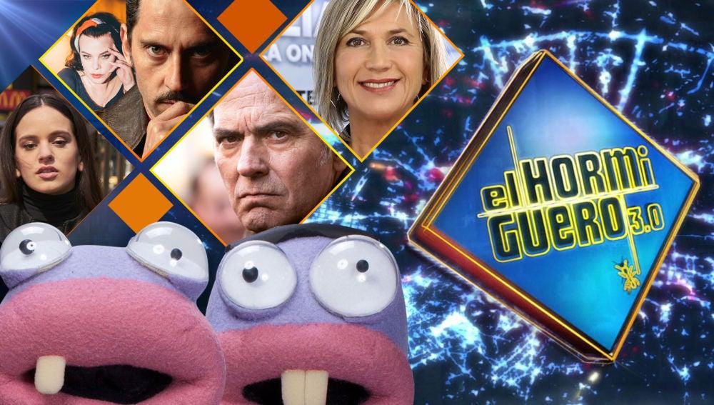 La próxima semana se divertirán en 'El Hormiguero 3.0' Rosalía, Paco León, Debi Mazar, José Coronado y Julia Otero