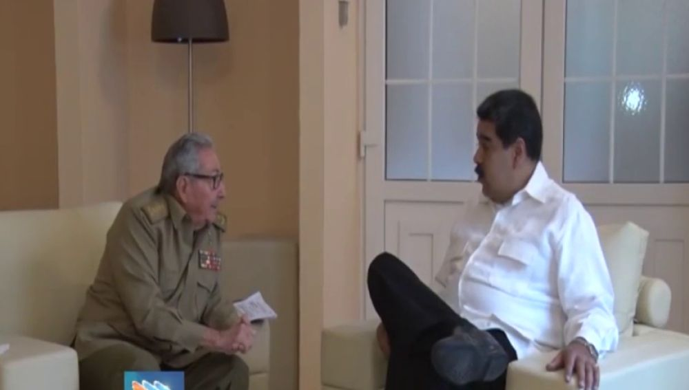Nicolás Maduro visita Cuba para reunirse con Raúl Castro