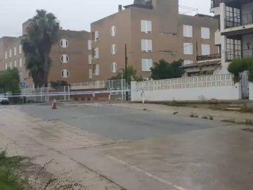 La localidad de Vendrell en Cataluña se ve fuertemente afectada por el temporal