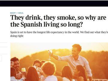 Artículo de The Times