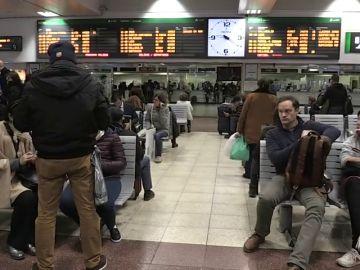 Renfe cifra en el 3 % el seguimiento de la huelga convocada por CGT