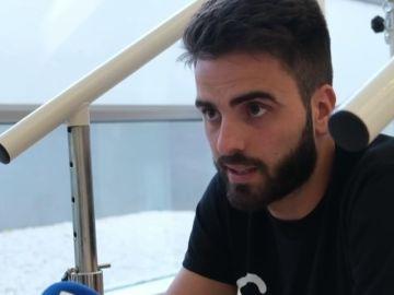 """Pelayo Novo, el futbolista que se cayó desde un tercer piso: """"Dejé el fútbol viendo su lado amable"""""""