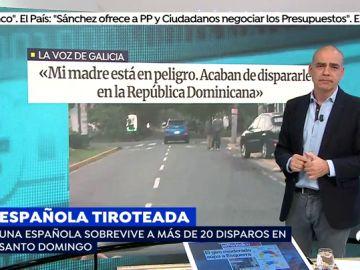 Una española, victima de sicarios en Santo Domingo.