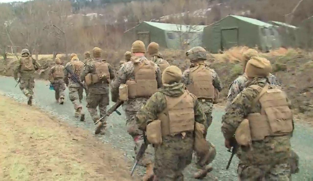 Cerca de 50.000 soldados participan en Noruega en las maniobras más importantes de la Otan