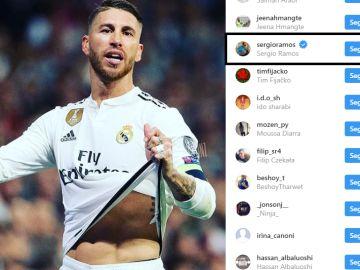 El 'like' de Ramos a una publicación criticando a sus compañeros
