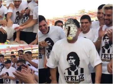 La fiesta del Dorados de Sinaloa para Maradona en su cumpleaños