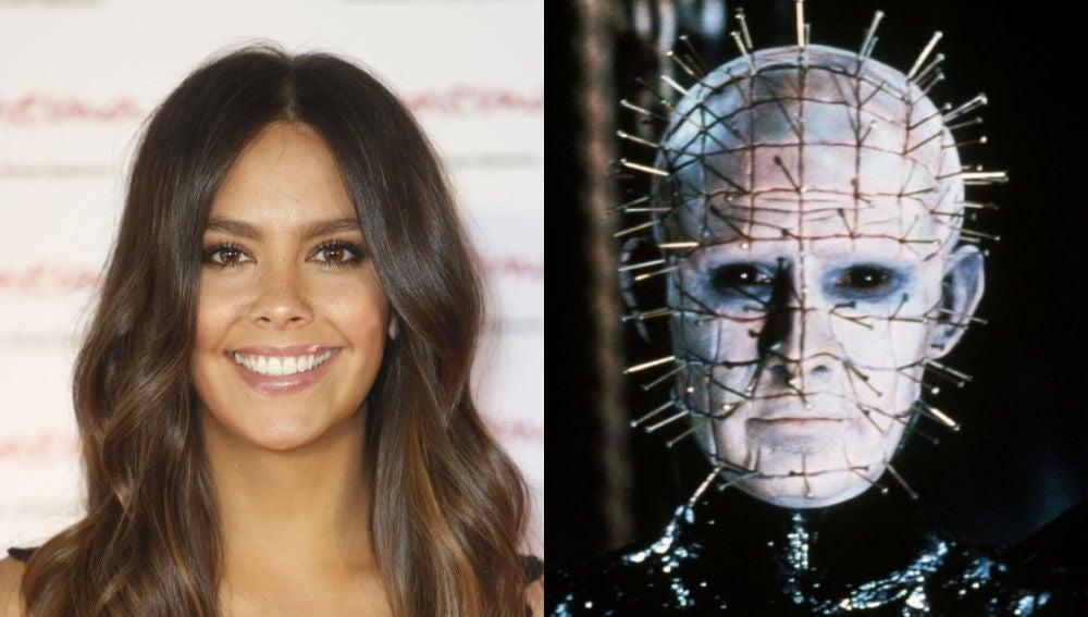 Cristina Pedroche se ha transformado en Pinhead para Halloween