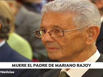 Muere el padre del expresidente de Mariano Rajoy