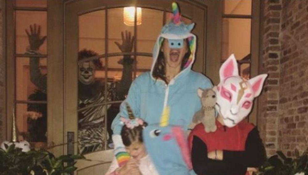 Tom Brady en Halloween