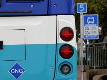 Parada de autobús en Estados Unidos