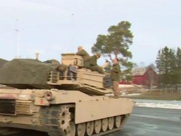 Maniobras militares en Noruega