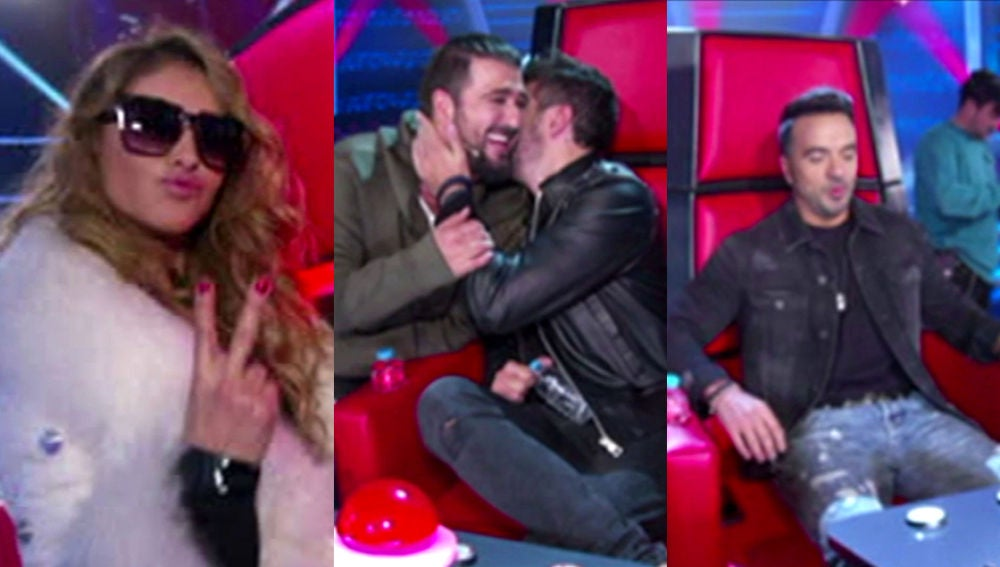 Paulina Rubio, Antonio Orozco, Luis Fonsi y Pablo López comienzan emocionados las grabaciones de 'La Voz'