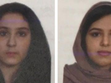 Imagen de las hermanas saudíes encontradas muertas en el río Hudson