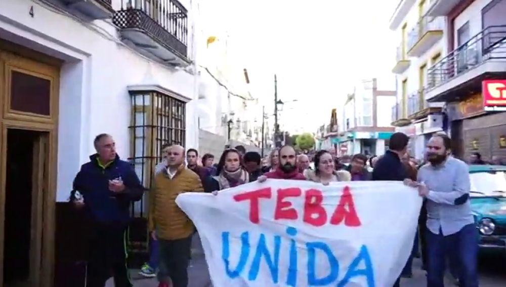 Vecinos de Campillos y Teba viajan a Madrid para pedir que se declare zona catastrófica