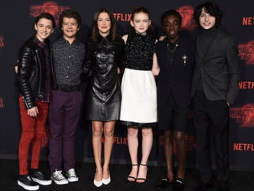 El reparto de 'Stranger Things'