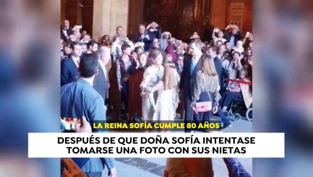 Desencuentros entre Doña Sofía y la reina Letizia