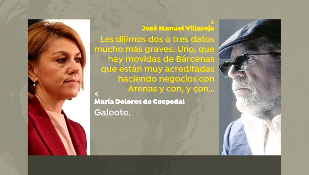 REEMPLAZO: Cospedal encargó a Villarejo que investigase a Javier Arenas