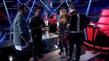 Adelántate a las primeras imágenes en exclusiva de la grabación de 'La Voz' en Antena 3