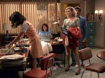 Silvia demuestra toda su capacidad y consigue arreglar las cuentas