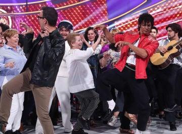 El multitudinario 'Thriller' de Michael Jackson bate récord Guinness en 'Tu cara me suena'