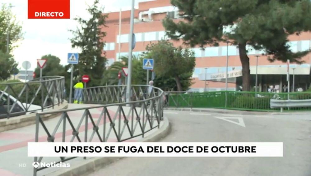Un preso aprovecha un traslado al hospital para fugarse: sus cómplices le esperaban con un coche en la puerta
