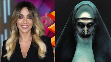 Anna Simón se disfrazó de 'La Monja' en Halloween