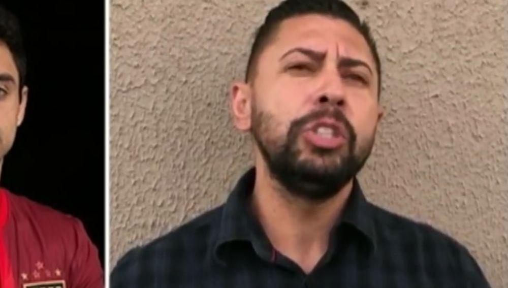El presunto asesino de Daniel Correa aparece en un vídeo