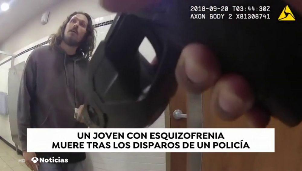 Dos policías matan a una persona que padecía esquizofrenia en Estados Unidos