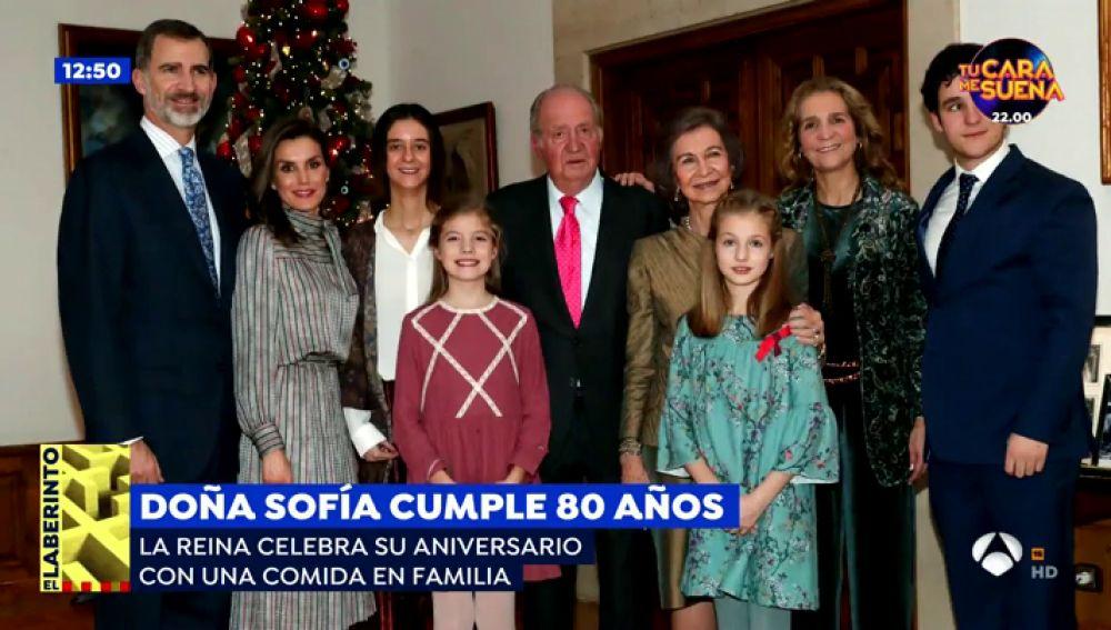 La Reina Sofía, en su 80 cumpleaños, continúa con ganas de batallar y de adentrarse en nuevos proyectos