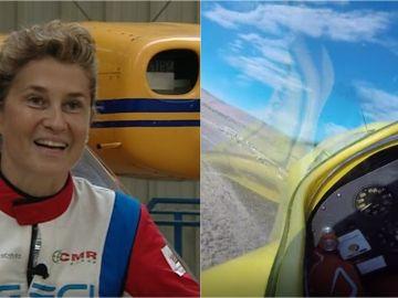 """La primera europea en participar en la F1 del aire en EEUU: """"Son carreras de aviones, como las de motos o coches"""""""