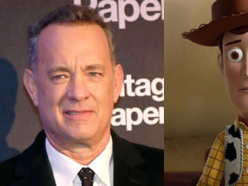 Tom Hanks y Woody