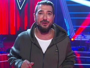 """Antonio Orozco trae """"muy poca vergüenza, miedo y mucho ingenio"""" para acaparar a los mejores artistas en su equipo de 'La voz'"""