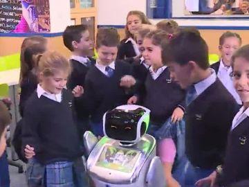 Robot en una escuela de Las Rozas