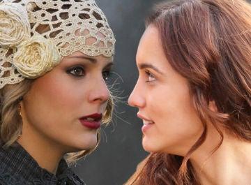 El 'movidito' reencuentro de Megan Montaner y Alejandra Onieva tras 'El secreto de Puente Viejo'