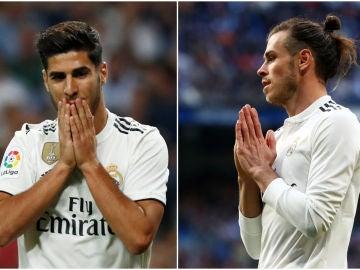 Asensio y Bale se lamentan
