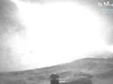 Una gran bola de fuego surca el cielo de Castilla la Mancha como consecuencia de la entrada en la atmósfera de un fragmento del cometa Encke
