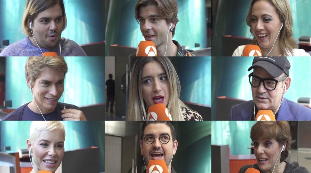 Los concursantes de 'Tu cara me suena' se enfrentan al test de la canciones al revés