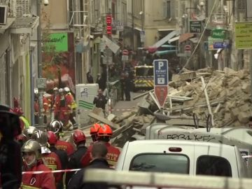 Se derrumba un edificio en el centro de Marsella