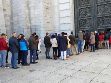 El número de visitas al Valle de los Caídos aumenta un 142,7% en octubre