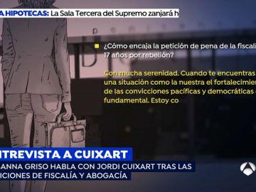 """Susanna Griso entra en la cárcel de Llenoners para entrevistar a Jordi Cuixart: """"El coste personal es alto pero lo volvería a hacer"""""""