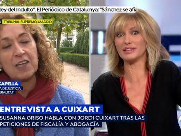 Esther Capella abronca a Susanna Griso