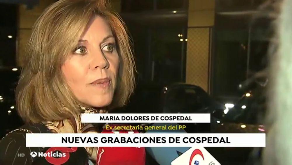 Cospedal confirma que Casado no le ha pedido que deje el escaño en el Congreso