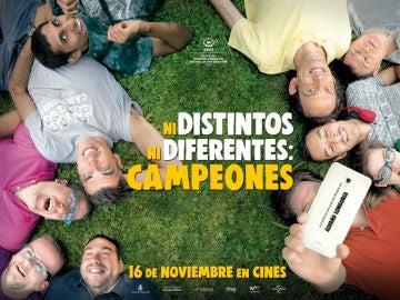 Concurso 'Ni distintos ni diferentes: Campeones'