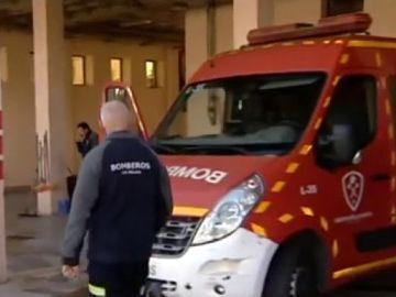 Incendio Málaga