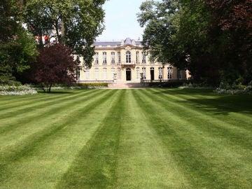 Los jardines de Matignon, en París
